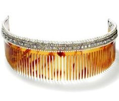 DIAMOND HAIR COMBS~ beauty bling jewelry fashion