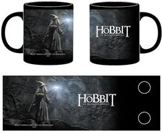 $17 Taza cerámica Gandalf luz en la oscuridad