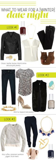 Pride and Joyce   date night outfits, winter, date, fashion, style, women, essie, j. crew, madewell, loft, outfit ideas, cold weather