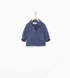 ZARA - MINI - Short coat with pockets