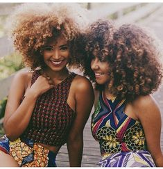 ***Try Hair Trigger Growth Elixir*** ========================= {Grow Lust Worthy Hair FASTER Naturally with Hair Trigger} ========================= Go To: www.HairTriggerr.com ========================= Two of a Kind!!! Doubly Cute Big Fro'd Curlfriends!!!