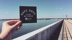 It's ok not to be ok.  #HopeForTheDay #HaveHope #LakeMurray
