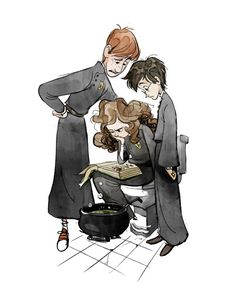 Find images and videos about harry potter, hogwarts and hermione on We Heart It - the app to get lost in what you love. Harry Potter Universe, Arte Do Harry Potter, Images Harry Potter, Harry Potter Drawings, Harry Potter Hermione, Harry Potter Fan Art, Harry Potter Fandom, Harry Potter World, Ron Weasley