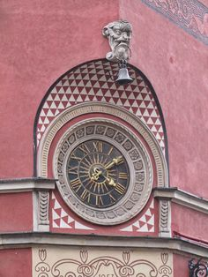 corner of the Simonetti House on the Kollataj Side of the Old Town Market Square in Warsaw, Poland.