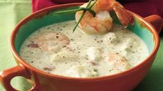 Special occasions call for extraordinary soups like this  rich and creamy shrimp bisque.