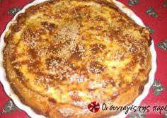 Ανοιχτή πίτα με κοτόπουλο, μανιτάρια και πράσα συνταγή από Peggy Sou - Cookpad French Toast, Food And Drink, Pizza, Cooking, Breakfast, Sweet, Savoury Pies, Pastries, Cakes
