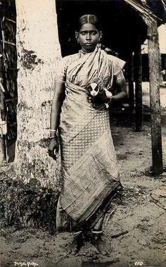 Galería de fotos. Tamil Girl (1920s).