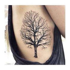 Resultado de imagen para tatuagens de arvore