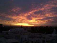 Atardecer en La Marsa ( La Marsa, Tunisia)
