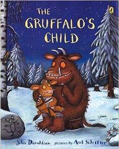 Love this and the first book, THE GRUFFALO. My son is enchanted by these wonderful creatures. #childrensbooks
