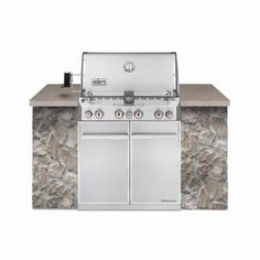 Weber Summit S-460 4-Burner Built-In Stainless Steel Natural Gas Grill-7260001 - The Home Depot