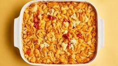 This baked pasta is super-kid-friendly. (They won't be able to detect the cauliflower!)
