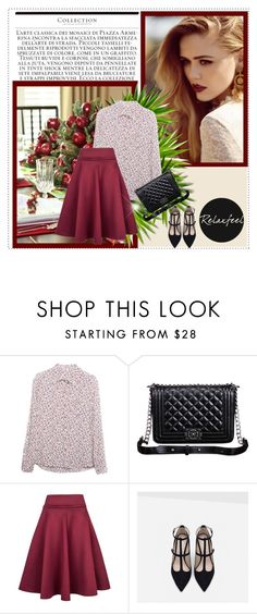 """""""Relaxfeel 1"""" by mell-2405 ❤ liked on Polyvore featuring mode, Relaxfeel, Zara, women's clothing, women's fashion, women, female, woman, misses en juniors"""