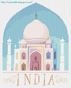 Крестики без ноликов.: Taj-Mahal.