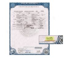 Complete apostille of a live birth certificate county of san county of san francisco certificate of birth signed by naomi kelly yelopaper Images