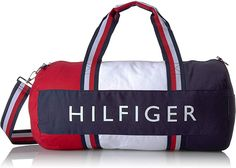 online shopping for Tommy Hilfiger Patriot Duffel Bag Wide Navy, Red White Stripe Handles from top store. See new offer for Tommy Hilfiger Patriot Duffel Bag Wide Navy, Red White Stripe Handles Tote Bags, Bag In Bag, Mochila Tommy, Gucci Travel Bag, Weekender, Childrens Luggage, Tommy Hilfiger Handbags, Leather Duffle Bag, Leather Briefcase
