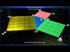 Vídeo Youtube: Demonstração do Teorema de Pitágoras em 3D.