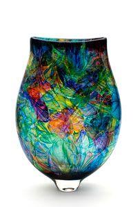 Bob Crooks Multi Flower Vase