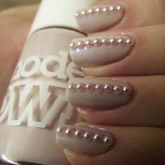 See more about manicure nails, wedding nails and pearl wedding. bridalnail