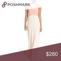 Jill Stuart two tone pink colorblock dress sz8 NWT Brand new, perfect for prom or wedding Jill Stuart Dresses