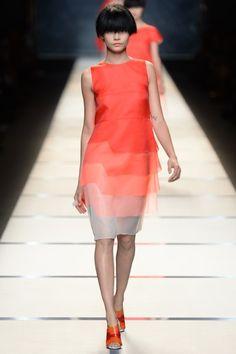 Fendi Frühjahr 2014 (Mailand Fashion Week 2013)