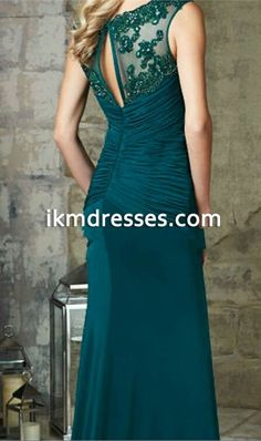 2016+New+Arrival+Elegant+Mother+Of+The+Bride+Dresses+Emerald+Green+Mermaid+Evening+Gown+Floor+Length+Long+Evening+Dress