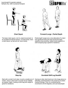 Physical therapy exercises with instructional video, good blog. This is post 12 of series. Would be good to look for the others.