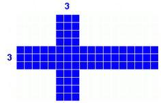 [Scandinavian Cross dimensions]