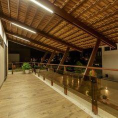 Casa Montenegro - 360 Arquitetura - João Pessoa-PB   360 Arquitetura – João Pessoa-PB Montenegro, Facade House, Tropical Houses, Lofts, Farm House, Bungalow, Sims, House Plans, Pergola