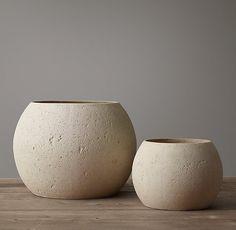 Organic Concrete Vessel Collection