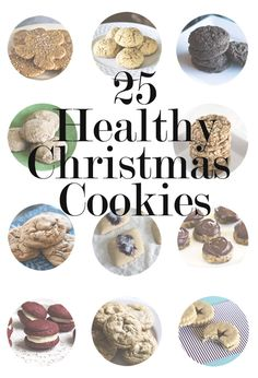 Christmas Cookie Recipes! #vegan #glutenfree #sugarfree By Natural Sweet Recipes