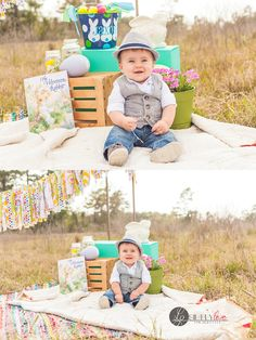 Easter Mini Sessions, Little Boy, Baby