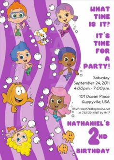 Bubble Guppies Birthday Party!