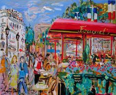 Paris Landscape Paintings by French Artist Maurice Empi Spanish Artists, French Artists, Figure Painting, Contemporary Artists, Impressionism, Art History, Landscape Paintings, Fine Art, Creative