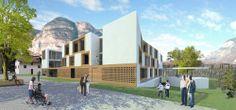 Cez Calderan Zanovello Architetti — Casa di riposo con 50 posti letto a Salorno