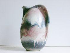 Rare+and+tall+Ruscha+ceramic+jug+vase+Germany+WGP