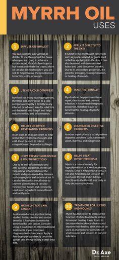 Myrrh Essential Oil Uses