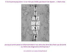 Campagne de prévention pour la santé GLOBALE et REELLE des entreprises