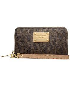 MICHAEL Michael Kors Jet Set Large Multi Function Phone Case - MICHAEL Michael Kors - Handbags & Accessories - Macy's