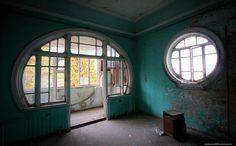 Abandoned Art Nouveau house in Georgia