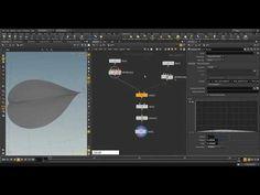 houdini 16 // vex withered leaf modeling - YouTube