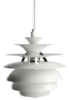 Replica Poul Henningsen Snowball Lamp - Exact Copy by Poul Henningsen - Matt Blatt