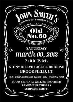 Tommy's 50th Jack Daniels Birthday Party