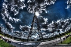 Gliwice Radio Tower Hdr, Tower, Building, Travel, Viajes, Computer Case, Buildings, Towers, Trips