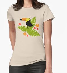 """""""Toucan"""" Graphic T-Shirts by Catoutline 