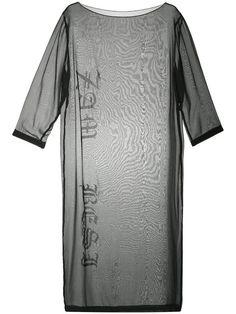 Купить Zambesi платье шифт  с принтом-логотипом