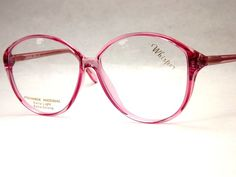big frame glasses pink - Google Search