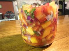 The Frickin Chicken: Lacto-Fermented Strawberry Mango Salsa