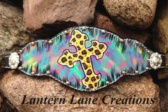 """""""Have faith in the midst of Chaos!"""" Custom painted bronc noseband"""