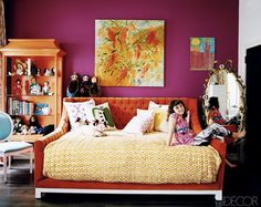 I can see my girls retreating to a room like this - oh to have it all...